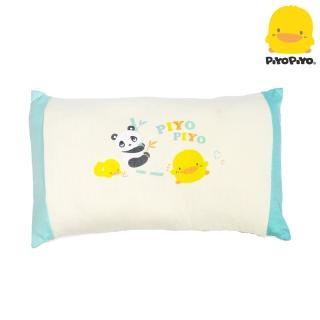 【Piyo Piyo 黃色小鴨】有機棉長方形枕(護頭枕)
