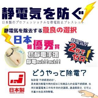 【DR.Story】日本製強導電纖維防靜電手環(抗靜電 防靜電 手環 日本製手環)