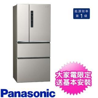 【Panasonic 國際牌】610公升四門變頻電冰箱絲紋灰(NR-D611XV-L)