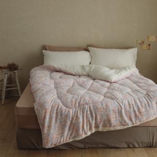 【翔仔居家】台灣製 防靜電極緻柔暖法蘭絨x羊羔絨 暖暖厚被-多款任選(買一送一)