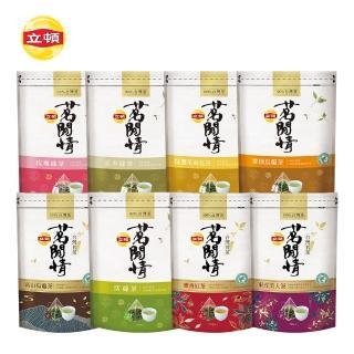 【立頓茗閒情_限定組】台灣茶系列任選8入組(凍頂烏龍/活綠茶/玄米綠茶/玫瑰綠茶/東方美人/蜜香紅茶)