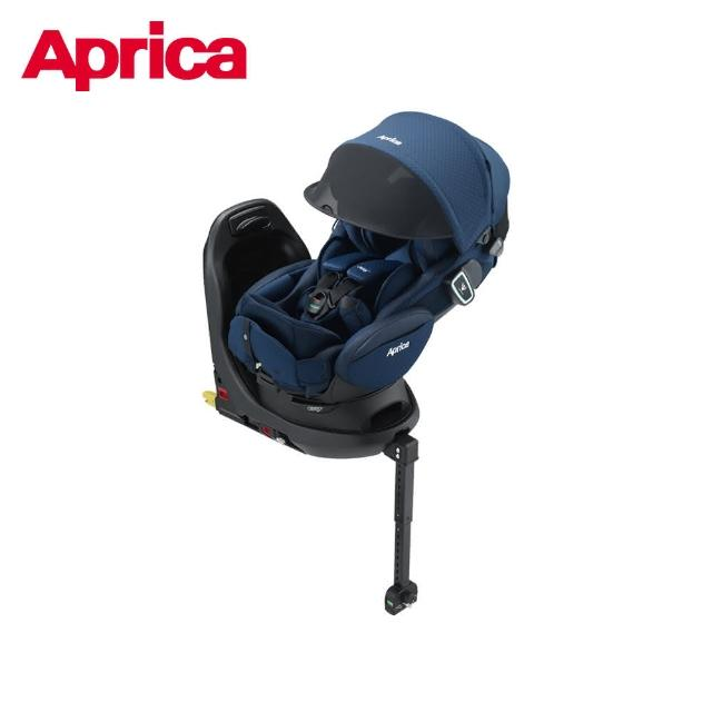 【Aprica 愛普力卡】Fladea grow ISOFIX All-around Safety Premium(0-4歲臥床平躺型安全汽座)