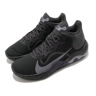 【NIKE 耐吉】籃球鞋 Renew Elevate NBK 男鞋 輕量 避震 支撐 包覆 運動 球鞋 黑 灰(CK2670-001)