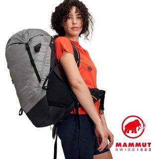 【Mammut 長毛象】Ducan 30L 輕量健行後背包 女款 花崗岩灰 #2530-00330