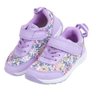 【布布童鞋】日本IFME季節花卉紫色兒童機能運動鞋(P0S602F)