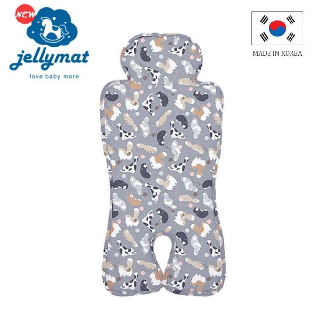 【jellyseat】獨家微顆粒果凍涼珠推車座墊 100%純棉酷涼墊/6款(2020全新設計款/經典設計款)
