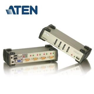 【ATEN】4埠 USB KVMP多電腦切換器 旗艦型(CS1734B)