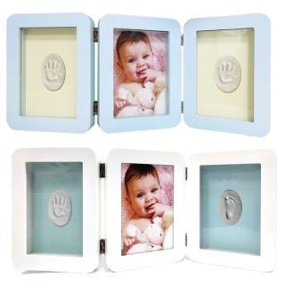 【OnceBaby】寶寶手足模印相框-桌上型(紀念品 彌月禮盒)