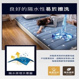 【DaoDi】真五層加厚透氣軟床墊(尺寸單人-90x200cm+-5%)