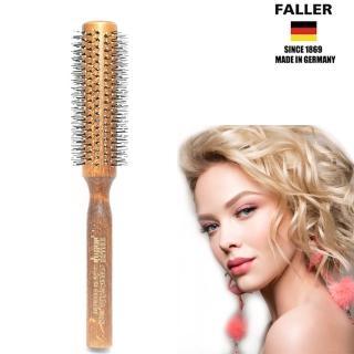 【FALLER 芙樂】德國製FSC 42MM耐熱纖維捲髮梳(細軟秀髮也適用)