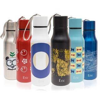 【艾力克Eric】不鏽鋼可樂瓶造型運動水壺700ml - 6色任選