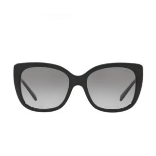 【COACH】貓眼風格大框黑色框灰色鏡片(8246F-500211)