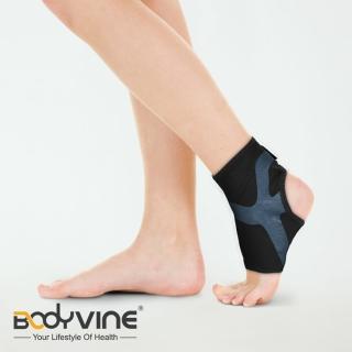 【BodyVine 巴迪蔓】超肌感貼紮護踝 1入 運動防護用品 腳踝防護 束健(CT1251)