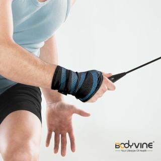 【BodyVine 巴迪蔓】超肌感貼紮護腕 強效加壓 1入 運動防護用品 手腕防護 束健(CT8110)