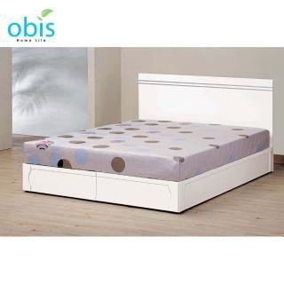 【obis】艾麗絲6尺雙人床底(不含床頭片及床墊)