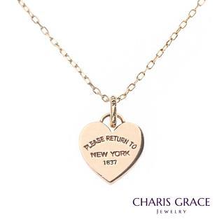 【CHARIS & GRACE 佳立思珠寶】14K愛心項鍊