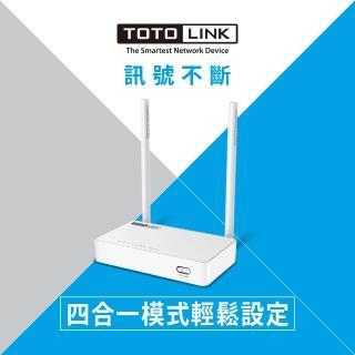 【TOTOLINK】N350RT 300Mbps 家用無線WIFI路由器 分享器(設定簡單 訊號超穩定)