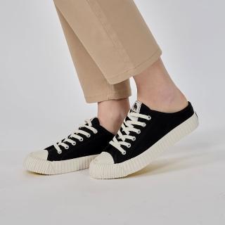 【moz】瑞典 穆勒拖鞋式餅乾鞋(萬年黑)