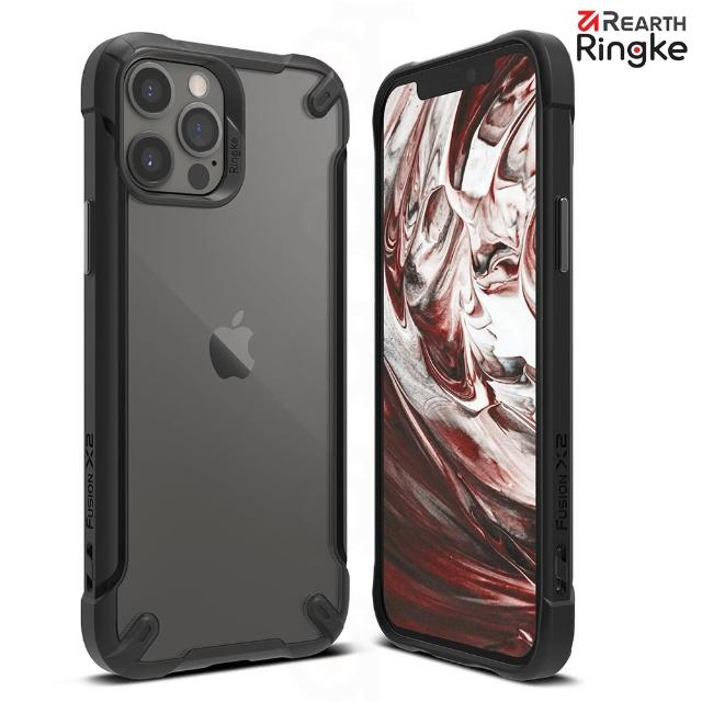 【Ringke】Rearth iPhone 12 / 12 Pro [Fusion X2] 透明背蓋防撞手機保護殼(iPhone 12/12 Pro 手機殼)