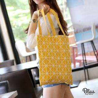 【Bliss BKK】雙面帆布棉麻包 單肩包 環保袋 帆布包(多款可選)