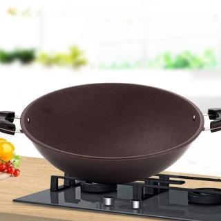 【台灣好鍋】優瓷3代 不沾炒鍋-雙耳(42cm)
