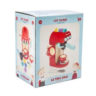 【LE TOY VAN】角色扮演系列-時尚膠囊咖啡機木質玩具組(TV299)
