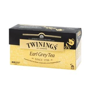【Twinings 唐寧茶】茶包2gx25包x1盒(仕女伯爵/皇家伯爵/英倫早餐/極品錫蘭茶/歐式大吉嶺)