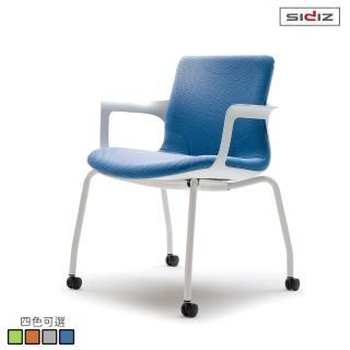 【iloom 怡倫家居】SIDIZ Ega T60 設計師系列人體工學時尚椅 椅輪型(4色可選)