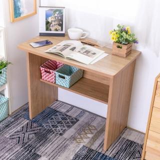 【AS】伯朗折疊式書桌-80x46x70.5cm(DIY)