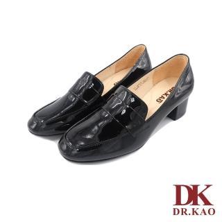 【DK 高博士】亮面牛皮氣墊女鞋 71-9019-90 黑色