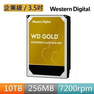 門號購優惠【WD 威騰】金標 10TB 企業級 3.5吋 SATA硬碟(WD102KRYZ)
