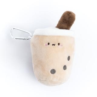 【生活工場】【女神節推薦】玩味甜點-Q珍奶吊飾杯套