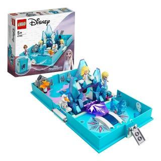 【LEGO 樂高】迪士尼公主系列 冰雪奇緣2 艾莎與水靈諾克的口袋故事書 43189 冰雪奇緣 迪士尼(43189)