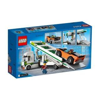 mo獨家【LEGO 樂高】城市系列 汽車運輸車 60305 卡車 運輸車(60305)