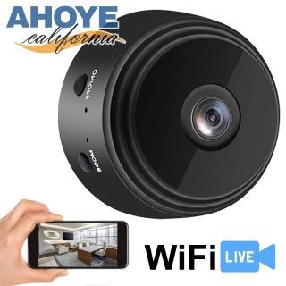 【AHOYE】1080P紅外線夜視WIFI視訊監控攝影機  針孔攝影機