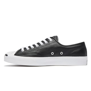 【CONVERSE】JP OX 皮革 黑 男女休閒鞋(164224C)
