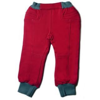 【goomi】台灣第一文創童裝 刷毛縮口褲(共3色)