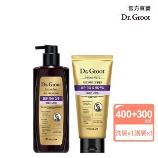 【Dr.Groot】養髮秘帖頭皮賦活洗髮護髮組(洗髮精400MLX1+護髮素300NL)