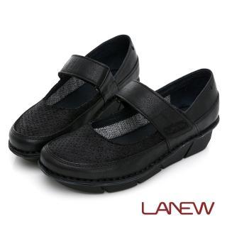 【La new】氣墊手縫休閒鞋 娃娃鞋(女34260255)