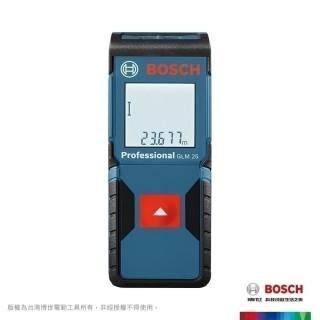 【BOSCH 博世】25米雷射測距儀(GLM 25)