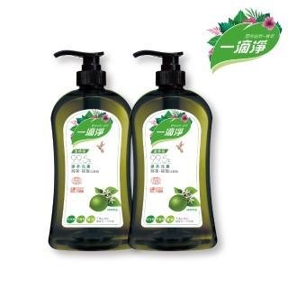 【一滴淨】蘆薈多酚洗潔精1000g 兩件組(柑橘精油/檸檬精油洗碗精)