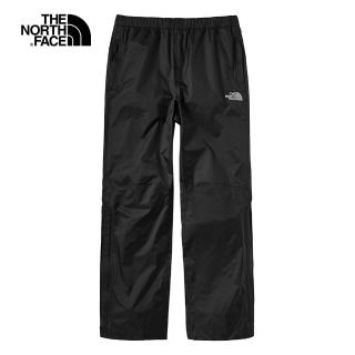 【The North Face】The North Face北面男款黑色防水透氣衝鋒褲|4NCOJK3