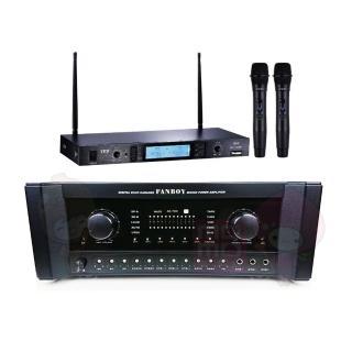 【AUSKA】AK-700+MIPRO MR-865 PRO(卡拉OK擴大機+無線麥克風/自動接唱/家庭劇院/)