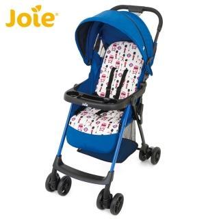 【JOIE】輕便嬰兒推車附餐盤-英倫藍