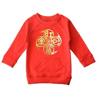 【goomi】台灣第一文創童裝 - 諸事/紅包拿來  口袋圓領T(過年款)