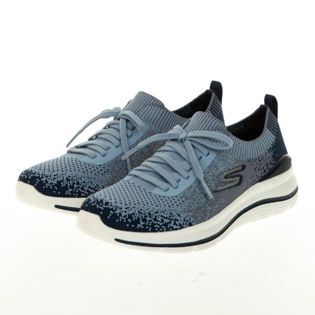 【SKECHERS】女 健走系列 GOWALK STRETCH FIT(124384NVBL)