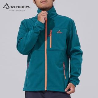 【TAKODA】經典防風防潑軟殼高領夾克