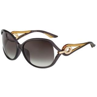 【Dior 迪奧】太陽眼鏡(灰紫色)