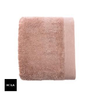 【HOLA】埃及棉加大浴巾-棕黃 90x150cm
