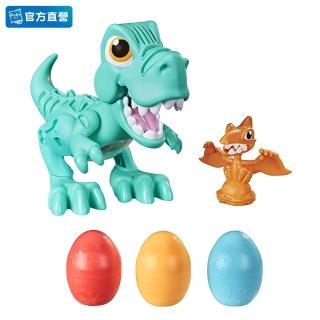 【PLAYDOH 培樂多】恐龍系列(暴龍好朋友 無毒 F1504)